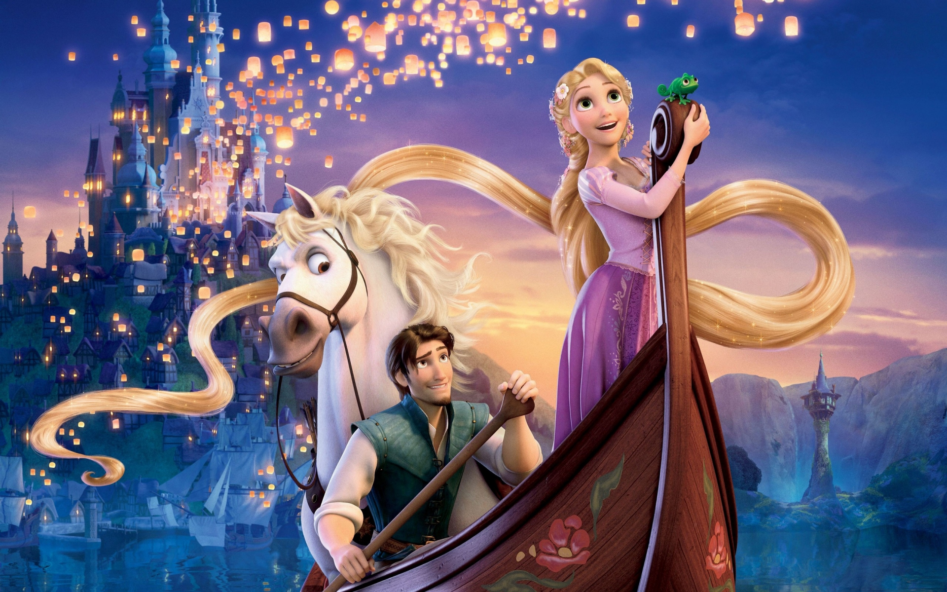 Tangled Musical Disney Desktop Wallpaper 1920x1200