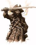 Blackbeard McShane Potc Ost Concept Art III