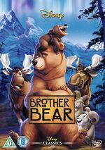 Brother Bear UK DVD 2014