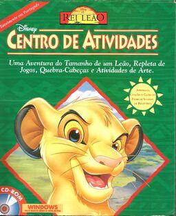 Disney Centro de Atividades O Rei Leão Caixa Frente