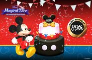 Disney Magical Dice Mickey's Birthday Promo