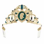 Disney Store Brave Princess Merida Tiara Costume Crown Jeweled Girls Headband