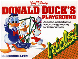 Donald Duck's Playground Coverart