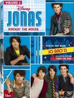 JONAS Rockin the House DVD