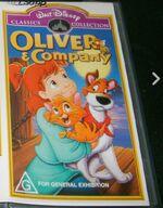 Oliver & Company 2001 AUS VHS Fir