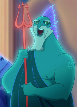 Poseidon Disney Hercules