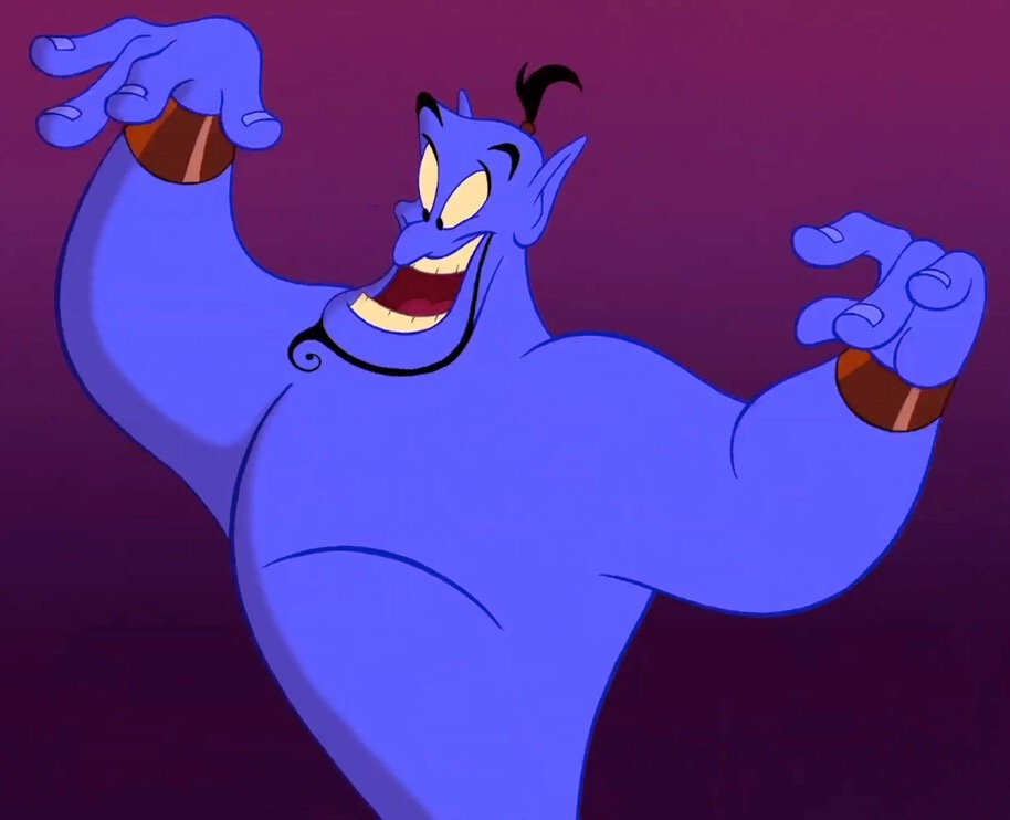 Image result for genie aladdin