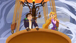 Race to the Spire - Eugene and Rapunzel