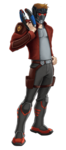 Star-Lord Animated Render 01