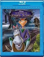 The Adventures of Ichabod and Mr. Toad 2014 Brazil Blu-Ray
