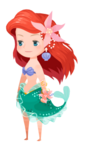 Ariel Costume Kingdom Hearts χ