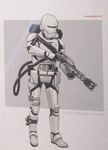 Flame Thrower Trooper Art
