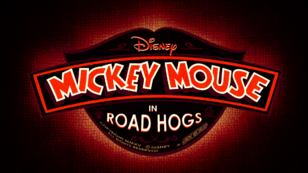 Mickey Mouse Road Hogs Title card