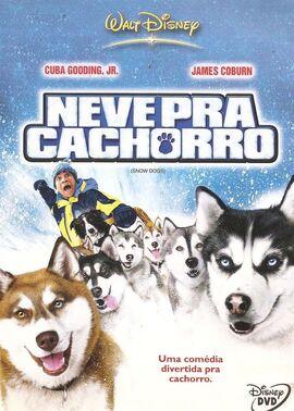 Neve pra Cachorro Capa do DVD