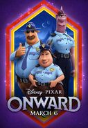 Onward Cops Poster
