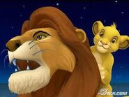 Simba and Mufasa KH
