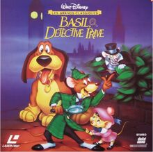 The Great Mouse Detective 1997 France Laserdisc