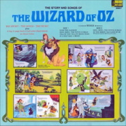 The Story and Songs of The Wizard of Oz - Back Cover