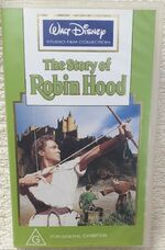 The Story of Robin Hood 1993 AUS VHS
