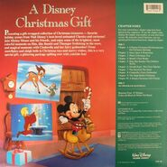 Closing to a disney christmas gift 1990 vhs player