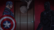Cap and Panther Secret Wars 04