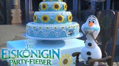 DIE EISKÖNIGIN PARTY-FIEBER - Ab dem 12. März im Kino - als Vorfilm von CINDERELLA! Disney HD
