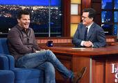David Boreanaz visits Stephen Colbert