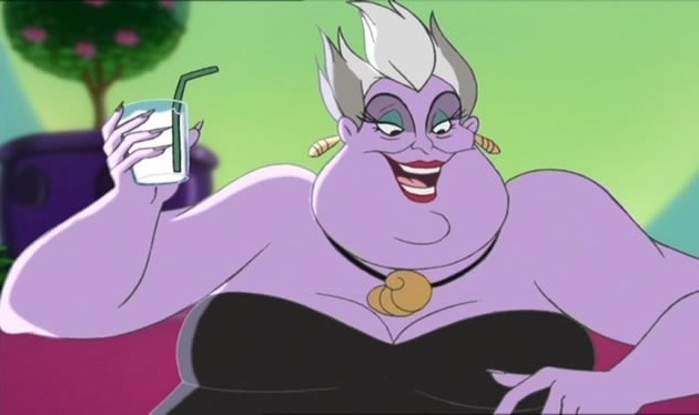 Ursula In Mickeys House Of Villains