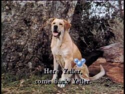 Old Yeller Sing Along - Disney