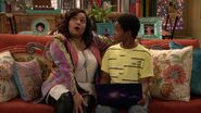 Raven's Home - 1x02 - Big Trouble in Little Apartment - Raven and Booker