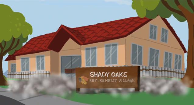 Brand-new Shady Oaks Retirement Village | Disney Wiki | FANDOM powered by Wikia CC28