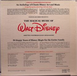 The Magical Music of Walt Disney back