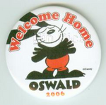Welcome home oswald pin