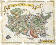 Adventure Isle Paris Map