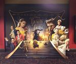 Beauty and the Beast theater display