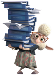 Bellwether Zootopia