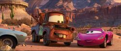 Cars 2 Holley and Tow-Mater