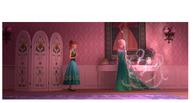 Frozen fever Elsa's & Anna's new dressess