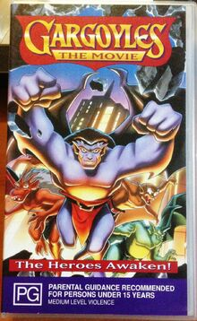 Gargoyles The Movie 1997 AUS VHS