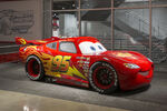 Lightning McQueen at the Petersen Automotive Museum