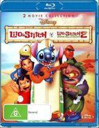 Lilo and Stitch + Lilo and Stitch 2 2014 AUS Blu Ray