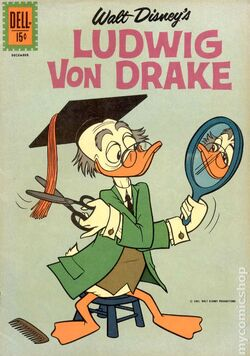 Ludwig Von Drake Issue One