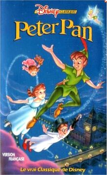 Peter Pan 1996 Belgium VHS French Version