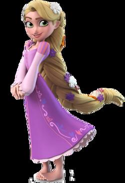 Rapunzel DI Render
