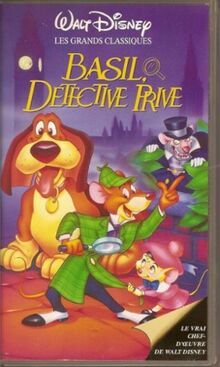 The Great Mouse Detective 1992 France VHS