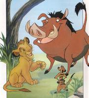 Timon, Kopa en Pumbaa