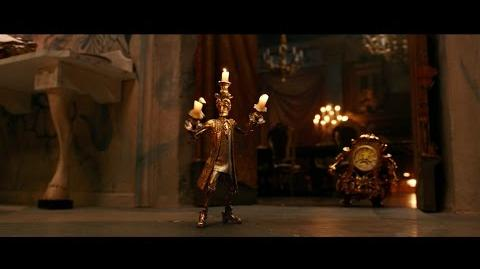 """Lumiere Plots Romance"" Clip - Disney's Beauty and the Beast"