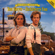 Back-to-Hannibal-The-Return-of-Tom-Sawyer-and-Huckleberry-Finn-Not-on-DVD-Movie-LaserDisc-1457AS-N