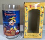 Burger King Pinocchio Plastic Cup with Box