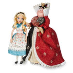 Disney fairytale doll collection alice and queen of hearts